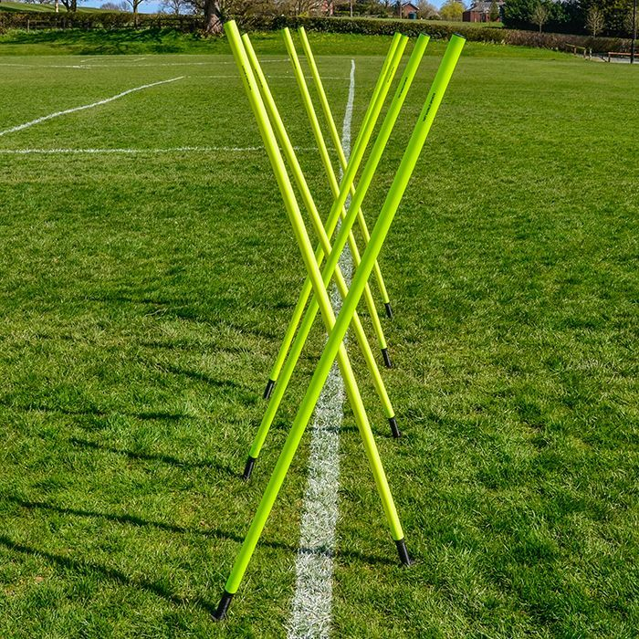 Soccer Slalom Poles For Fitness Training