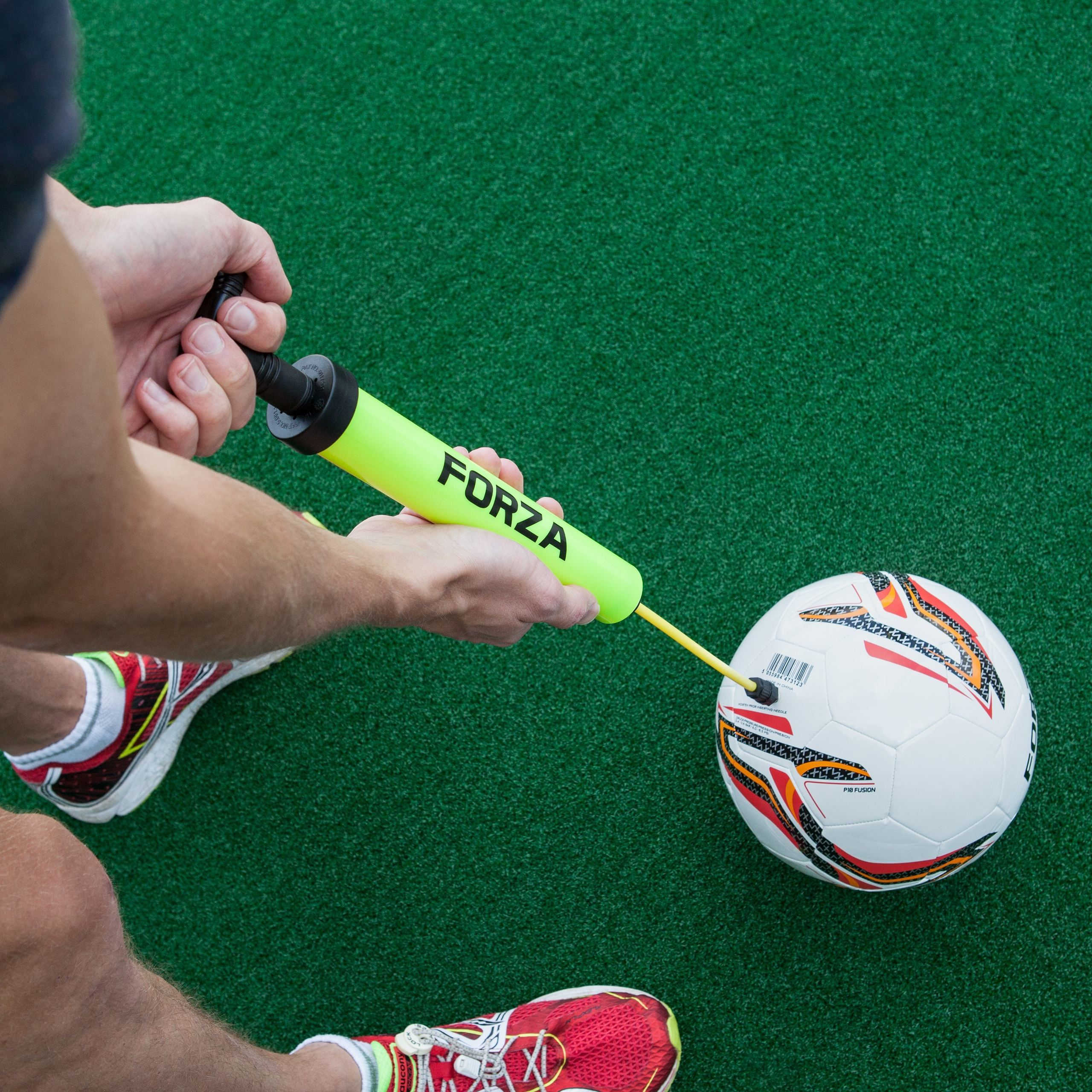 FORZA Soccer Ball Pump Extendable Nozzle | How To Inflate A Soccer Ball Quickly