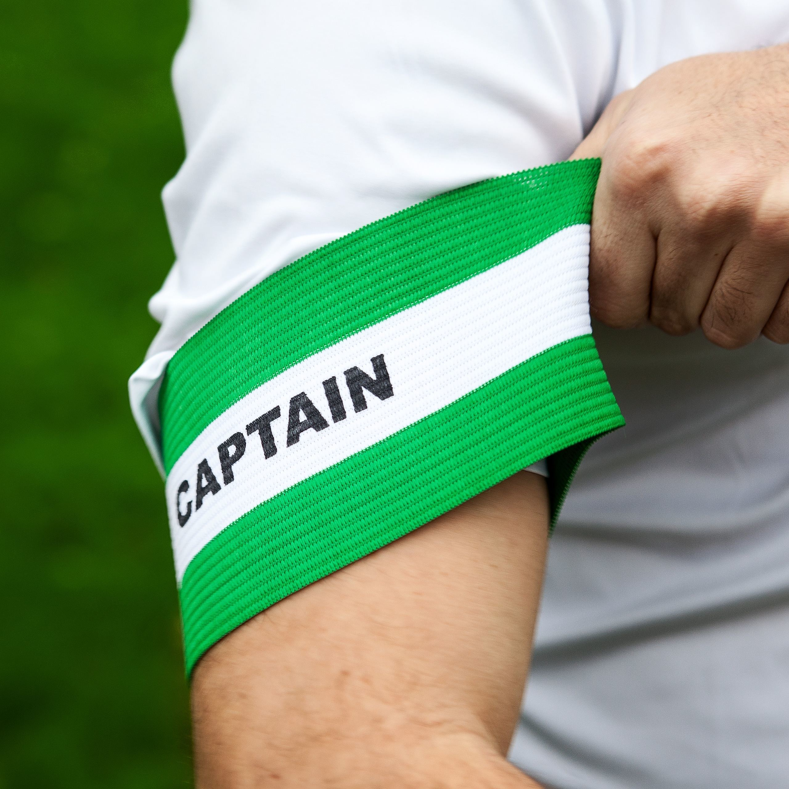 Elasticated Soccer Captain's Armbands | Comfortable Fitting Soccer Captains Armband
